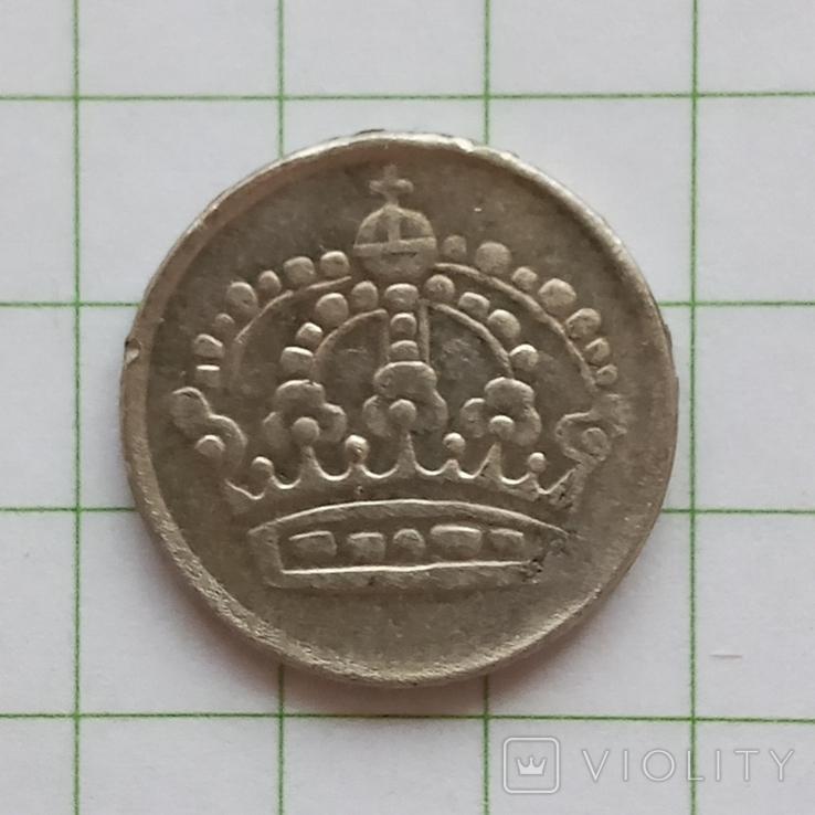 Швеция 10 эре 1958 год, фото №3
