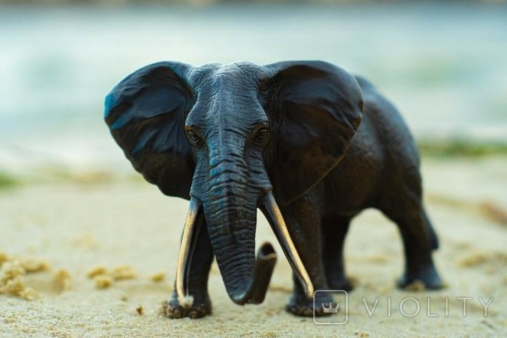 Слон - бронза, фото №4