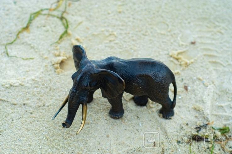 Слон - бронза, фото №11
