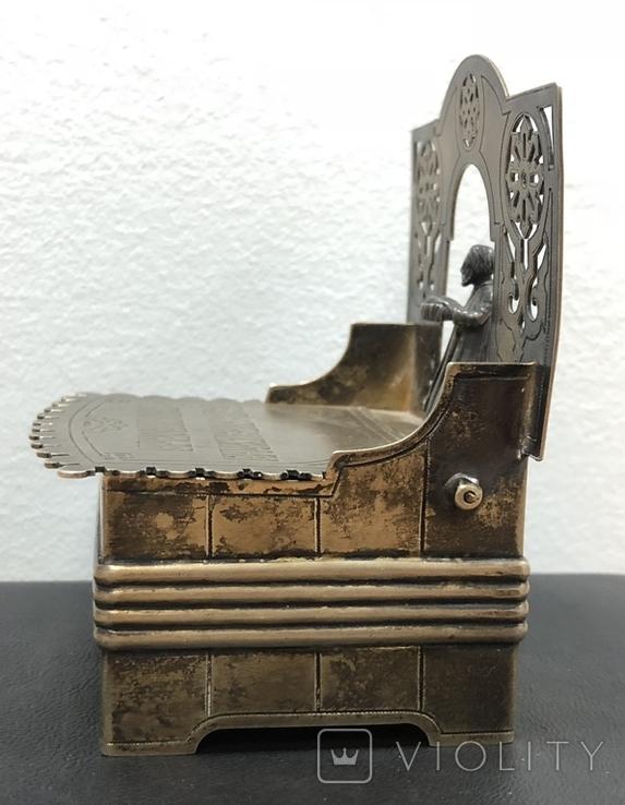 Серебряная солонка 84 пробы. Хлебников 1873 год (без соли без хлеба половина обеда), фото №5