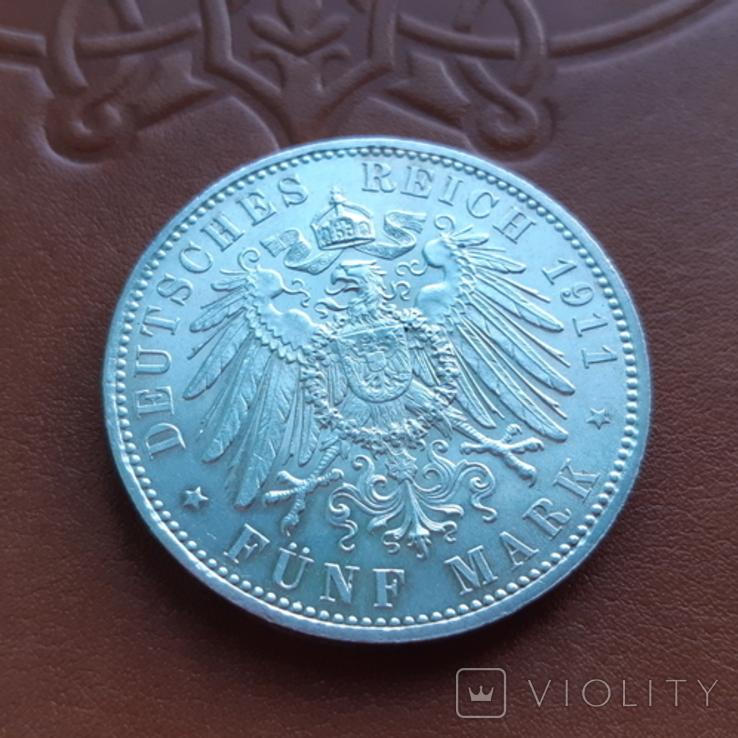 5 марок 1911 Бавария, фото №8