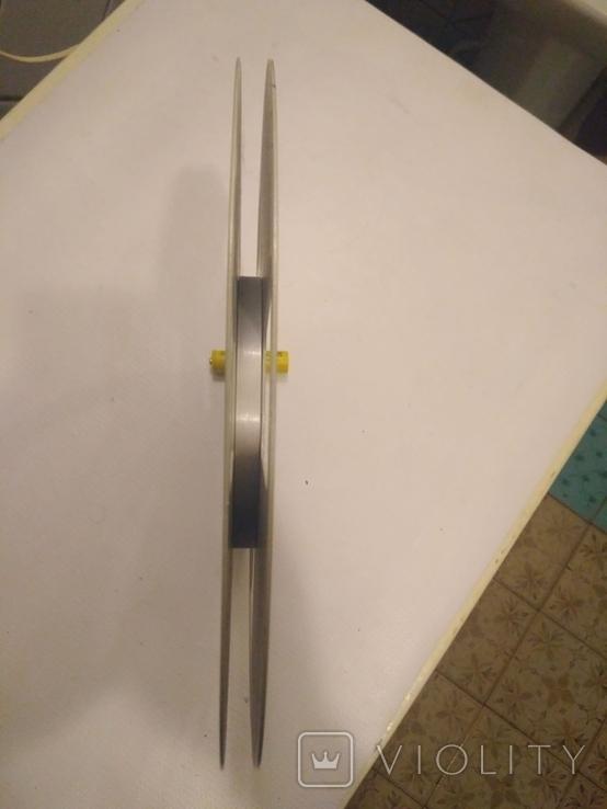 Бобина магнитофонная CROWN, металл, 1100м, фото №4