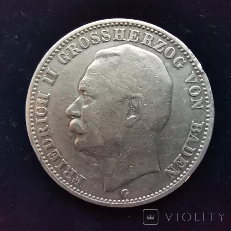 3 марки Баден 1914 г., фото №3