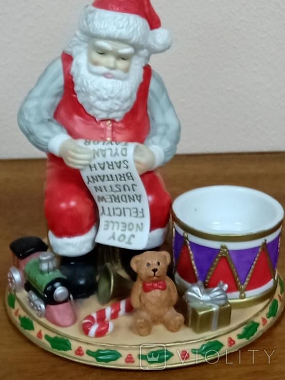 "Статуэтка ""Дед Мороз с подарками""., фото №2"