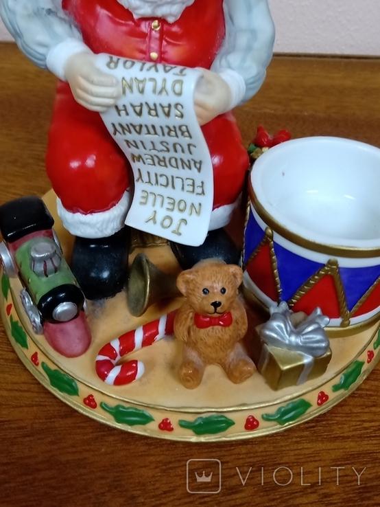 "Статуэтка ""Дед Мороз с подарками""., фото №3"