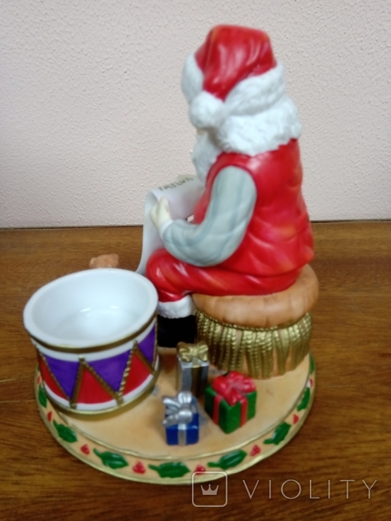 "Статуэтка ""Дед Мороз с подарками""., фото №4"