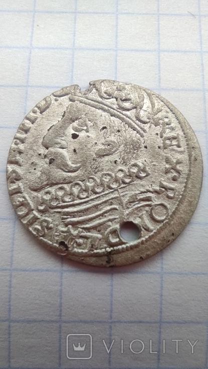 Трояк Сігізмунда ІІІ 1601 (Краків), фото №2