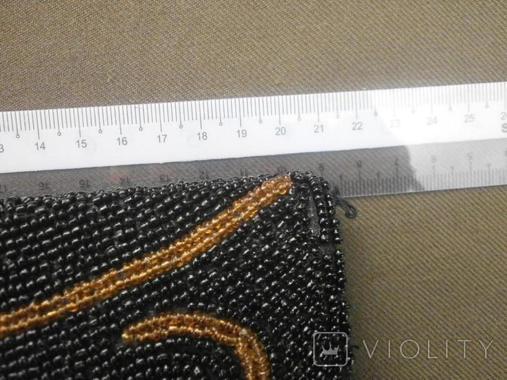 Театральная сумочка вышитая бисером, фото №3