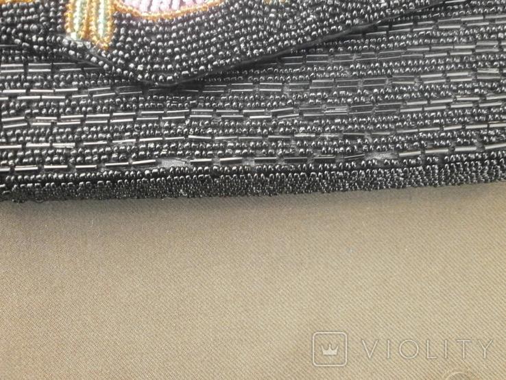 Театральная сумочка вышитая бисером, фото №4