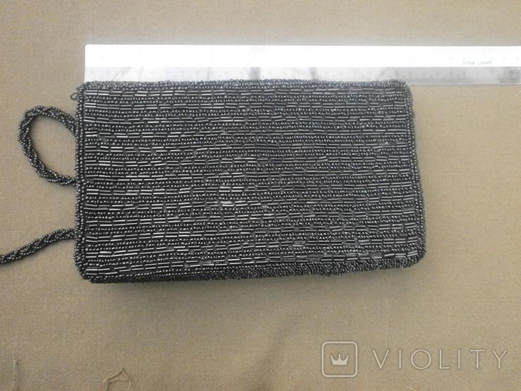 Театральная сумочка вышитая бисером, фото №8