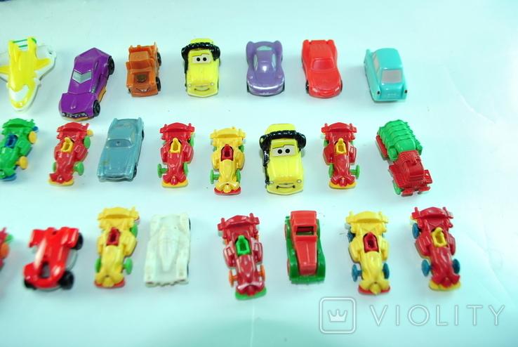 Игрушки - машинки 36 шт из киндер сюрприза, фото №5