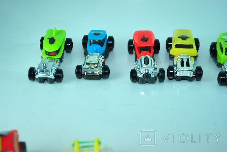 Игрушки - машинки 36 шт из киндер сюрприза, фото №7