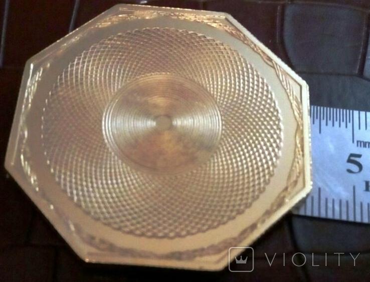 50 доларів США 1851 року. не  магнітний,   (позолота 999)  копія диної відомої, фото №3