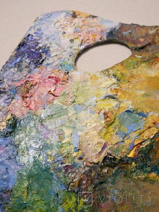 Настоящая палитра(2) художника.Продается как арт-обьект., фото №4