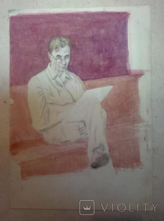 Портрет В.Искам., фото №3