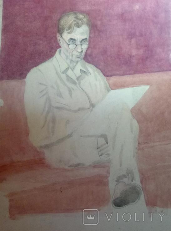 Портрет В.Искам., фото №4