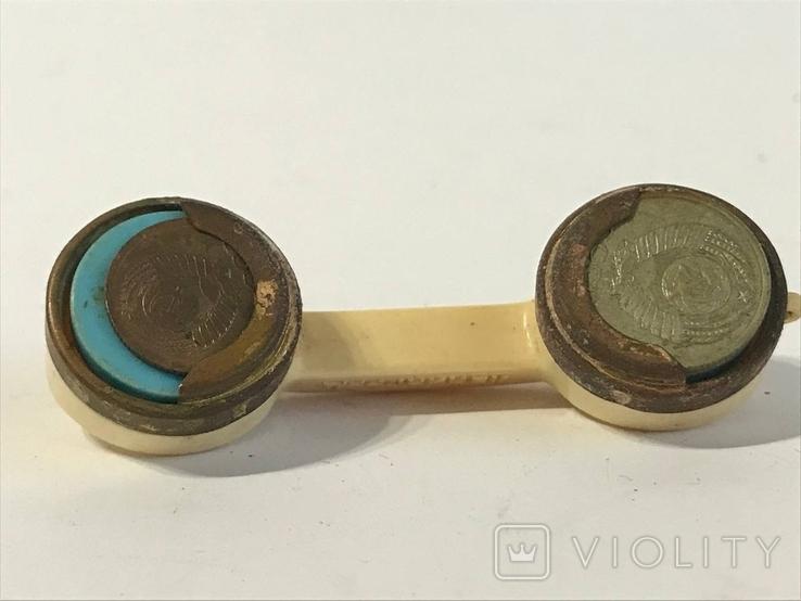 Монетница трубка ссср, фото №3