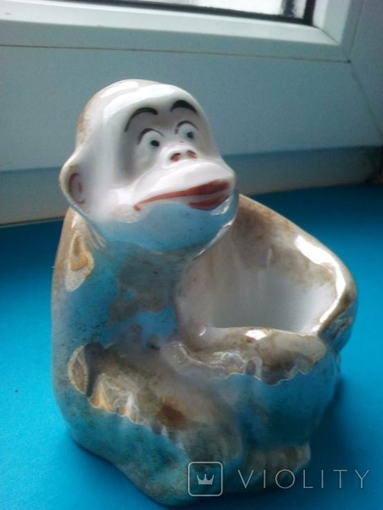 Пепельница обезьянка., фото №4