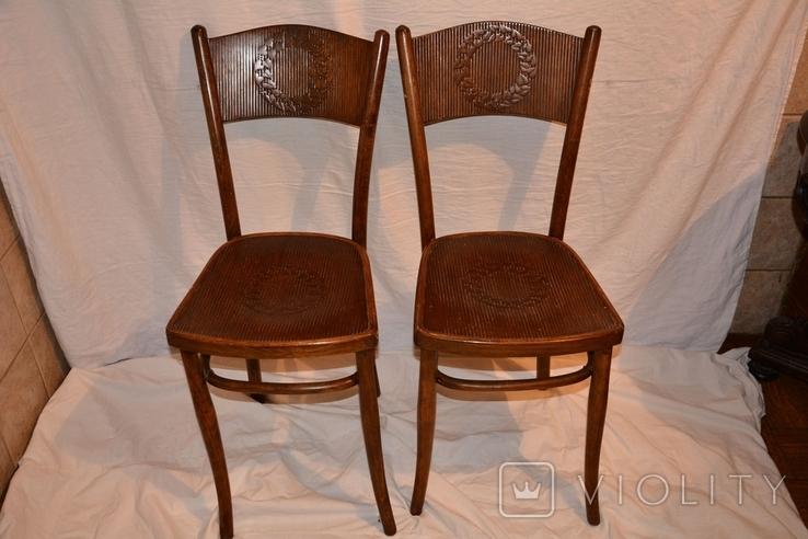 Венские старинные стулья.Яковъ и Іосифъ Конъ, фото №2