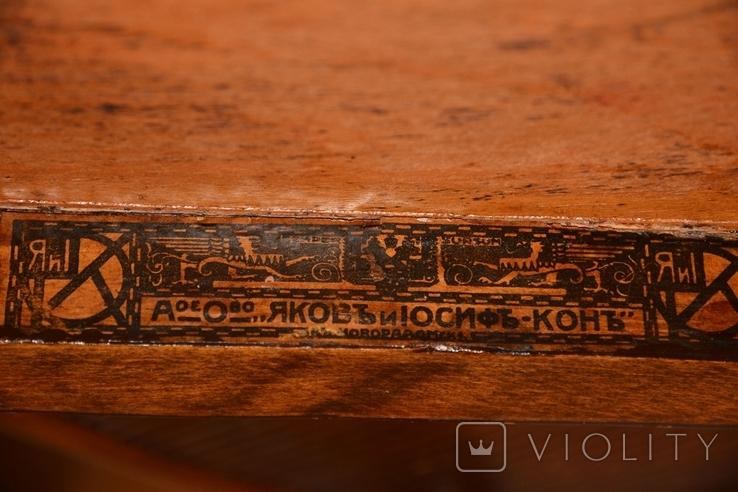 Венские старинные стулья.Яковъ и Іосифъ Конъ, фото №13