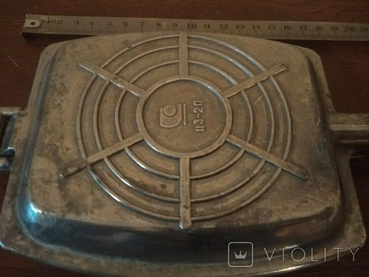 Тостер. Форма для приготовления тостов на газу-советская, фото №4
