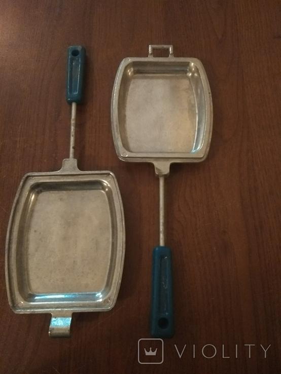 Тостер. Форма для приготовления тостов на газу-советская, фото №6