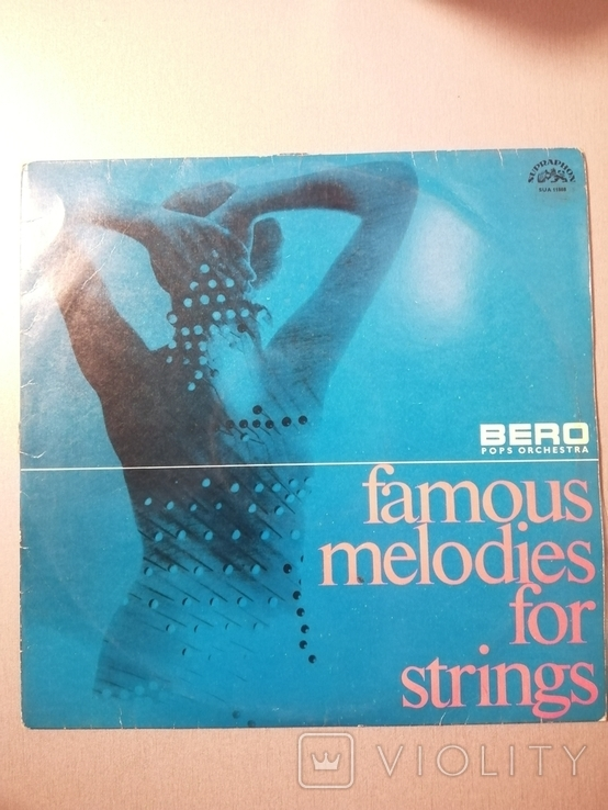 Пластинка Famous melodies for strings