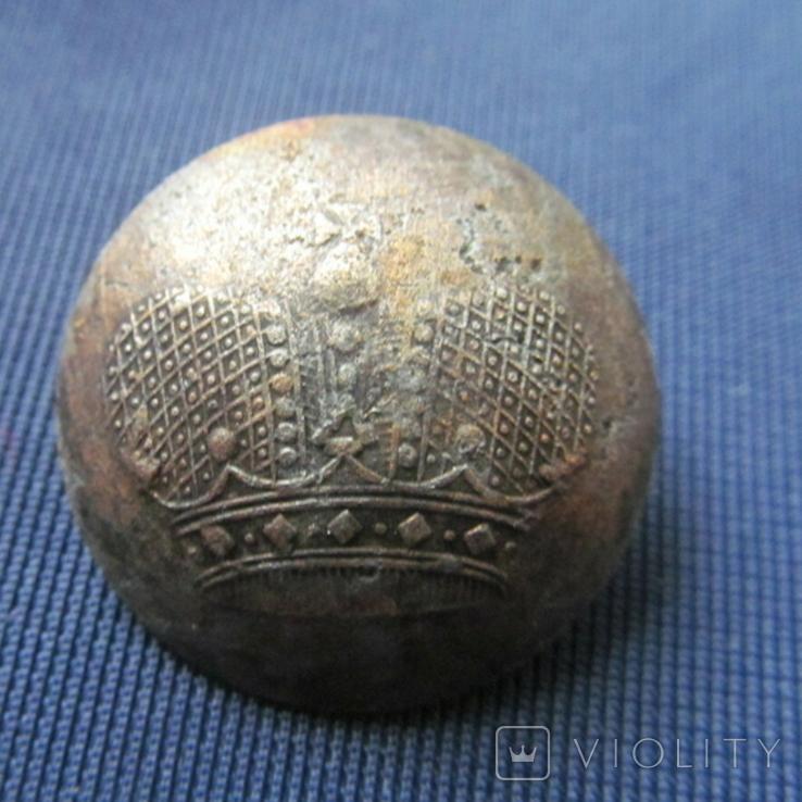Пуговица корона, фото №2