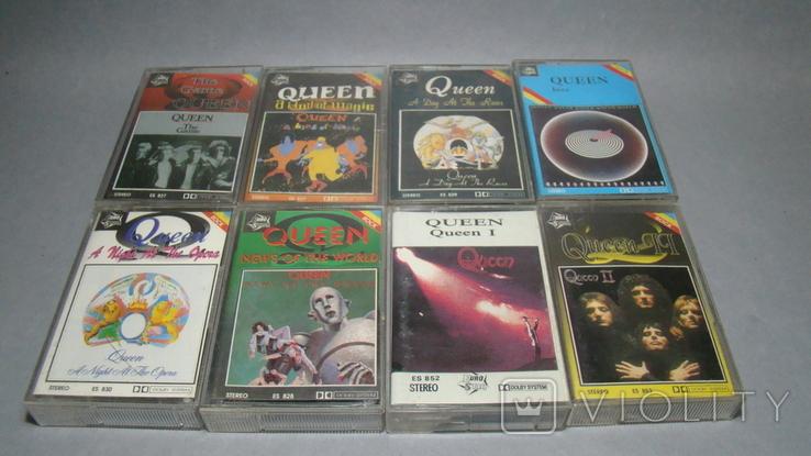 """Сборник кассет группы """"QUEEN"""", фото №2"""