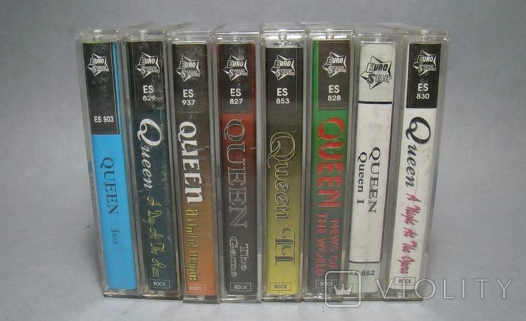 """Сборник кассет группы """"QUEEN"""", фото №5"""