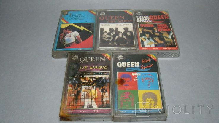 """Сборник кассет группы """"QUEEN"""", фото №12"""