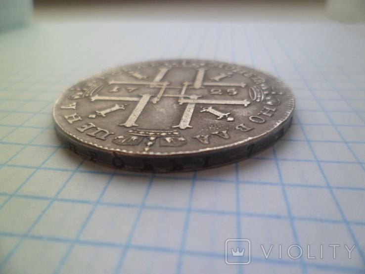 1 рубль 1725 год копия, фото №6