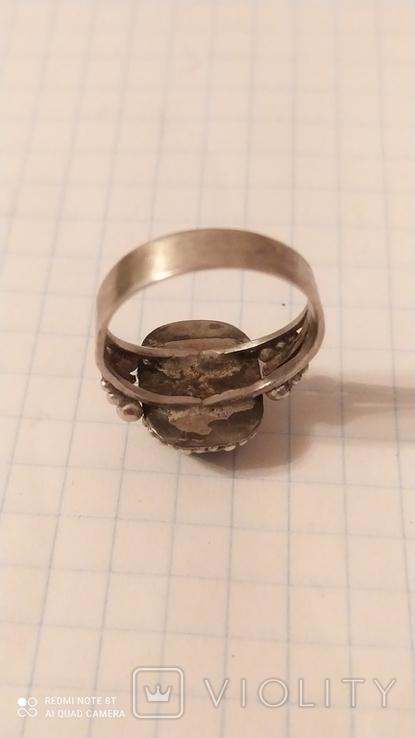 Серьги+кольцо, фото №3