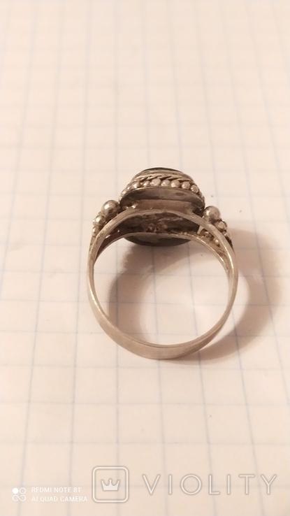 Серьги+кольцо, фото №4
