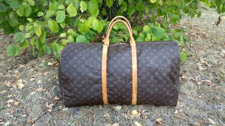 Дорожная сумка louis vuitton, с номером, фото №2