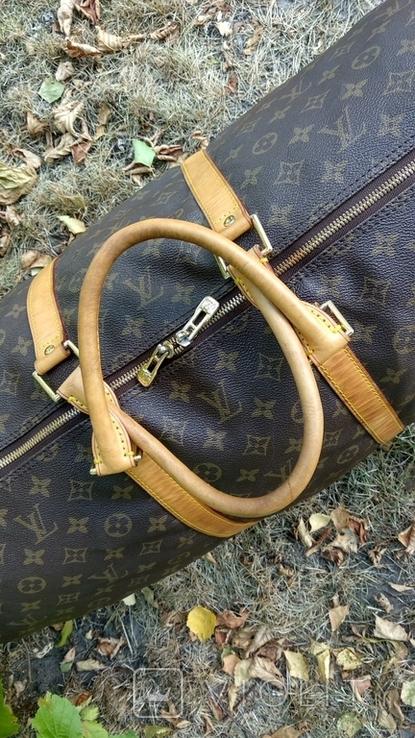 Дорожная сумка louis vuitton, с номером, фото №3