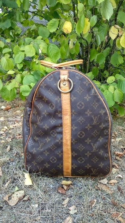Дорожная сумка louis vuitton, с номером, фото №4
