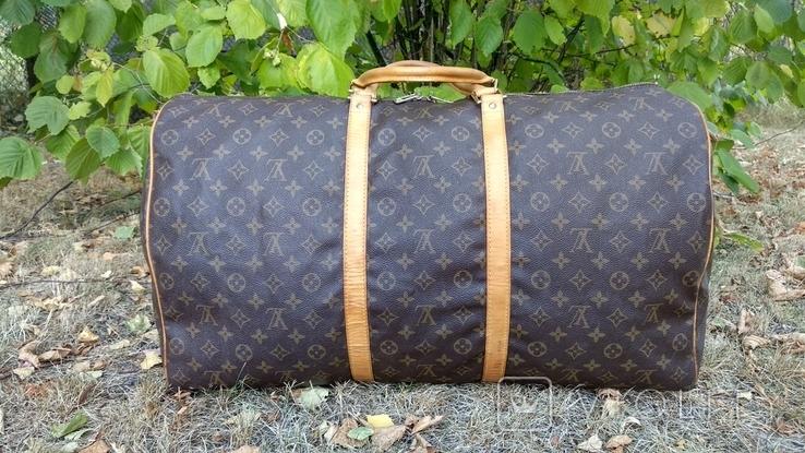 Дорожная сумка louis vuitton, с номером, фото №5