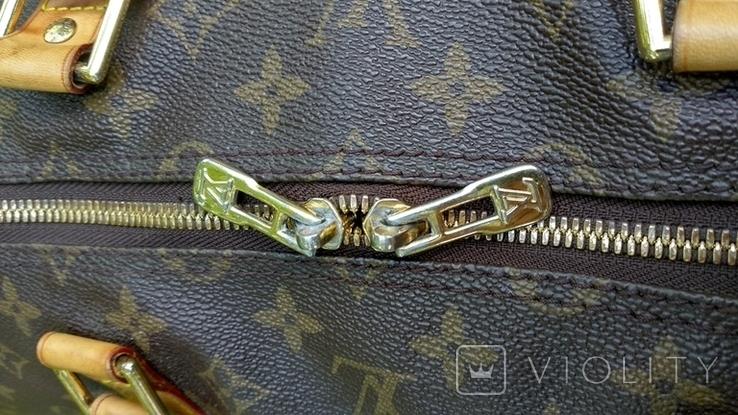 Дорожная сумка louis vuitton, с номером, фото №8