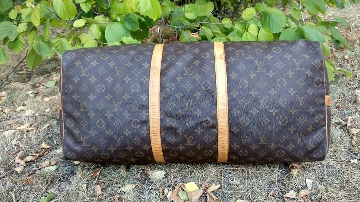 Дорожная сумка louis vuitton, с номером, фото №9