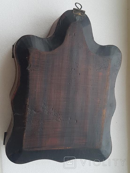Икона Господь Вседержитель в киоте-(2), фото №3