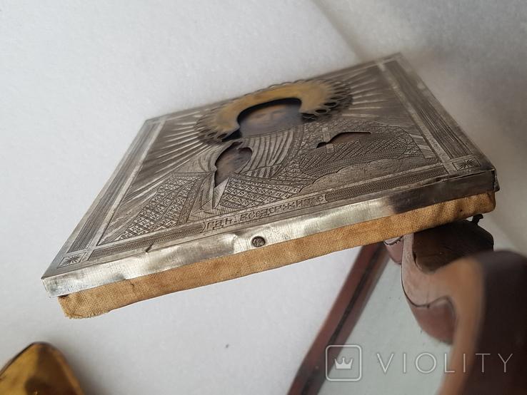 Икона Господь Вседержитель в киоте-(2), фото №9