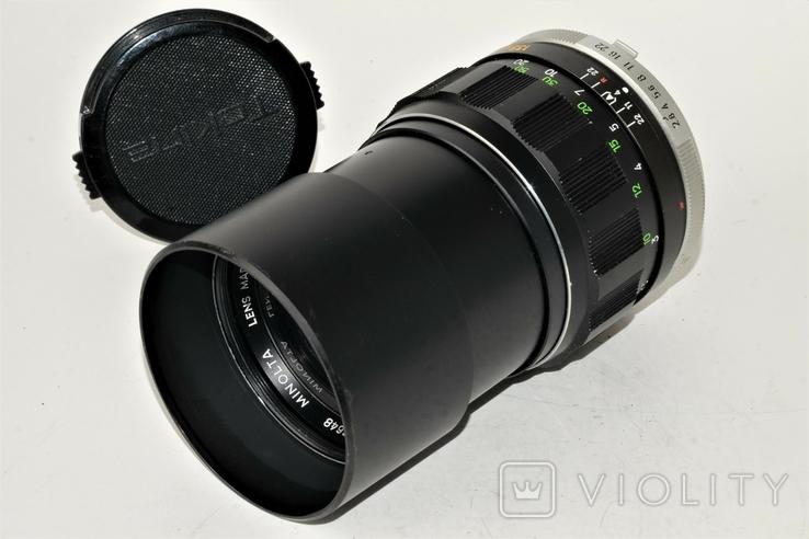 Minolta f 135mm 1/2.8 MC TELE Rokkor PF MD, фото №2