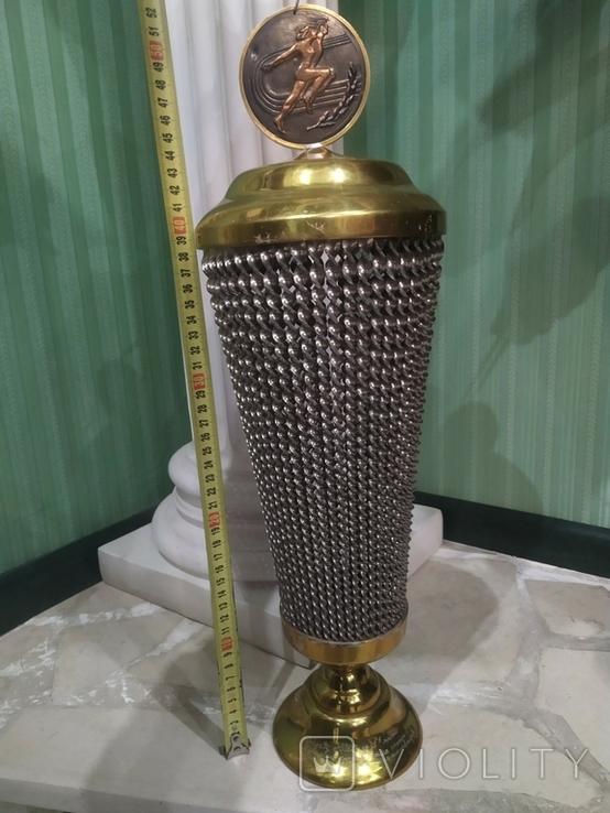 Кубок Большой Ваза Приз СССР наградная подпись 52 см, фото №2