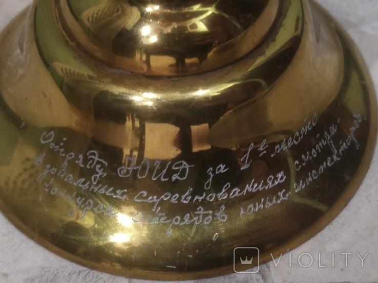 Кубок Большой Ваза Приз СССР наградная подпись 52 см, фото №5