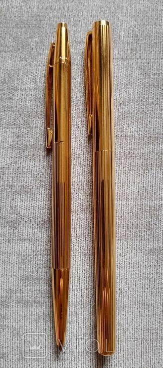 Набор перьевая ручка Montblanc Noblesse 1147 и шариковая ручка Montblanc, фото №6
