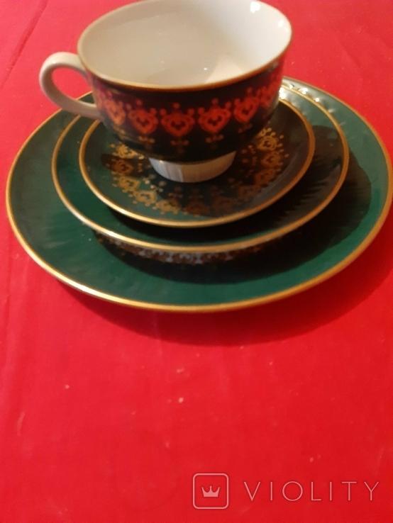 Чайная тройка ГДР, фото №2