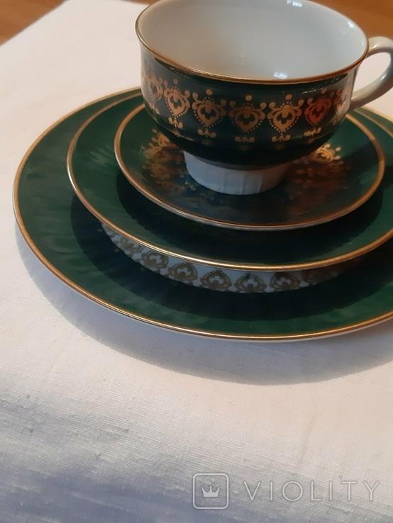 Чайная тройка ГДР, фото №4