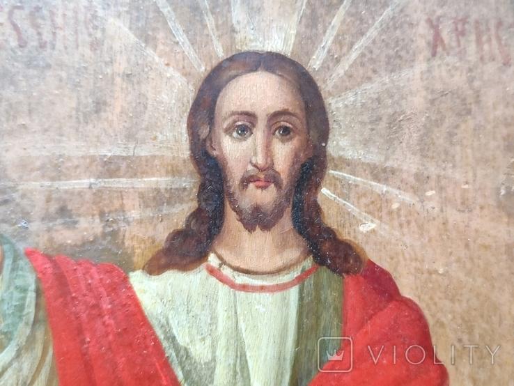 Воскресение Христово. Икона. 21х29. Красивые лики., фото №9
