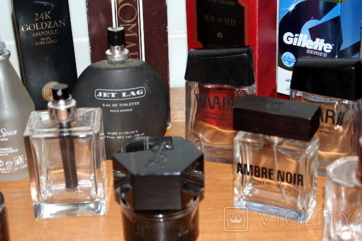Пустые флаконы с разной парфюмерии + пустые коробки в подарок, фото №6